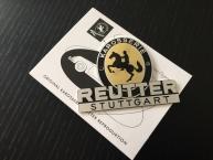 Original Reutter Plakette ab 1953 - 1955