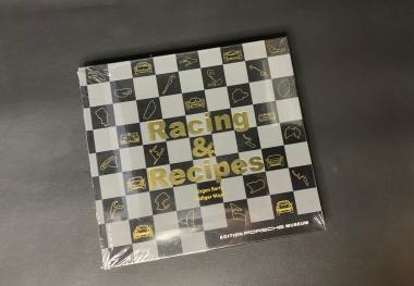 "Buch  ""Racing + Recipes"" -deutsch"