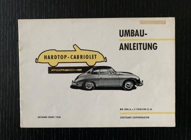 Original Umbau-Anleitung 356 Cabrio -1958
