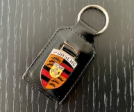 Historischer Porsche Schlüsselanhänger NOS