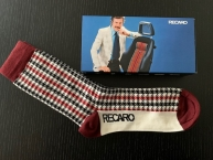Original RECARO Pepita Socken  s/w/r  Gr. 42 - 46