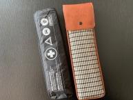 Original Recaro - Erste Hilfe Set -schwarz/weiß(braun Pepita, braunes Leder