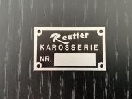 Orig.  Karosserie Reutter Karosserienummer-Plakette