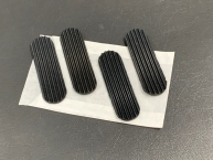Rubber pad set for Reutter luggage rack