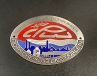 Original Porsche Club Westfalen 1964 Plakette