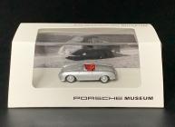 Porsche 356 No 1 1948 silbergrau metallic 1/87