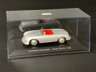 Porsche 356 No. 1  1948 silber 1/43 Welly