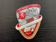 """Original Porsche Club Plakette """" Jahrestreffen Schwäb. Gmünd"""""""