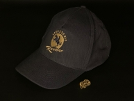 REUTTER Basecap dunkelblau - gold Logo