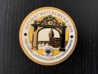 """original Plakette 1957 """"Heimatwettbewerb"""""""